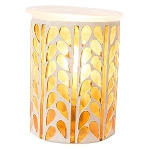 Mosaic Wax Warmer (Amber)