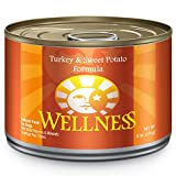 Wellness Natural Food for Pets Complete Health Natural Wet Canned Dog Food, Turkey and Sweet Potato Recipe, 6-Ounce Can (Pack of 24)
