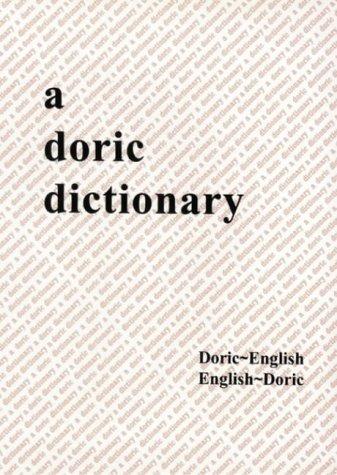 Download Doric Dictionary pdf epub