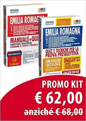 Kit concorso Regione Emilia Romagna: Quiz e tecniche per la ...