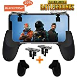 Mobile Game Controller [Upgrade Version] Mobile Gaming Trigger for PUBG/Fortnite/Rules of Survival Gaming Grip and Gaming Joysticks for 4.5-6.5inch Android iOS Phone (Mobile Game Controller) SVZIOOG