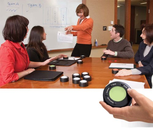 Trainers Warehouse Me First v.2 Wireless Game buzzers - Small Group Set (4 Users) by Trainers Warehouse (Image #1)