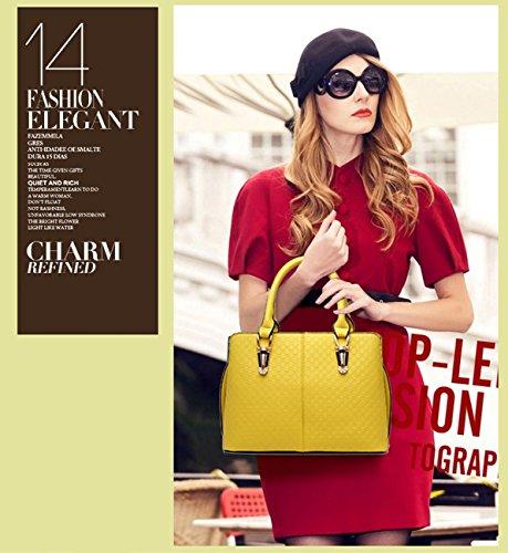 Nicole Champagne bag female trend for large women bag 2018 fashion casual handbag Yellow shoulder retro bag Gold handbags amp;Doris Messenger rwqFgnr