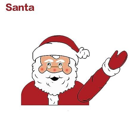 Coomir Agitar el Brazo Etiquetas de limpiaparabrisas de Navidad Pegatinas Suministros de decoración de Navidad Car