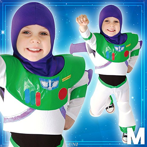 Toy Story Costume - Buzz Lightyear Costume - Child M -