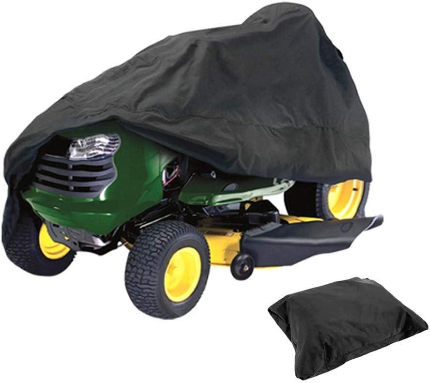 para Tractor de jard/ín Cubierta Protectora Impermeable para cortac/ésped al Aire Libre protecci/ón UV ELR