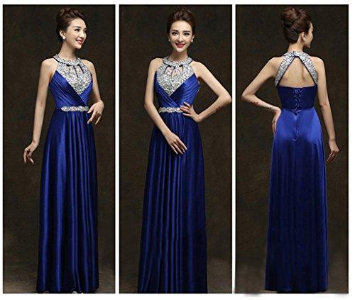 Blu Donna Ad Linea A Drasawee Vestito Z7x6Hxqf