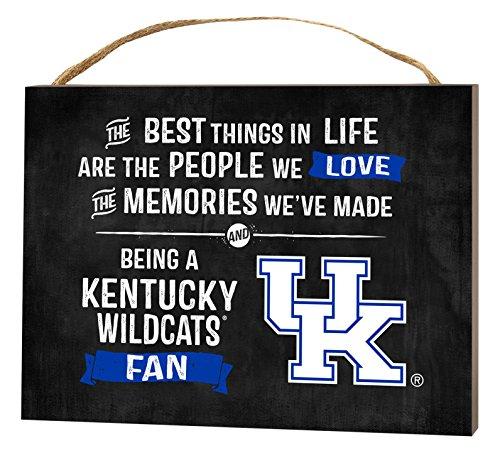 KH Sports Fan 4'' x 5.5'' Kentucky Wildcats Best Things Small College Plaque by KH Sports Fan (Image #1)