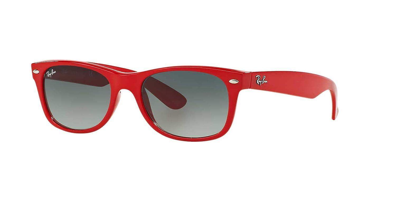 Ray-Ban 0RB2132 606771 52 Gafas de sol, Rojo (Red/Grey ...