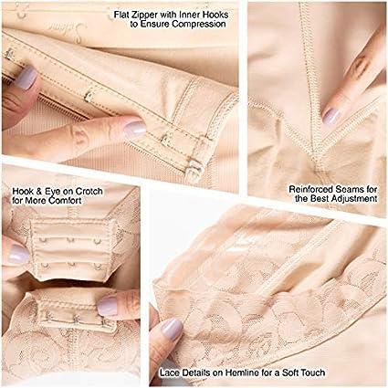 Salome 0412 Butt Enhancer Tummy Control Shapewear Fajas Colombianas Strapless