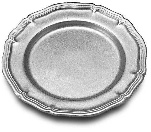 Amazon.com | Wilton Armetale Country French Dinner Plate Round 10-1/2-Inch Pewter Plate Dinner Plates  sc 1 st  Amazon.com & Amazon.com | Wilton Armetale Country French Dinner Plate Round 10 ...