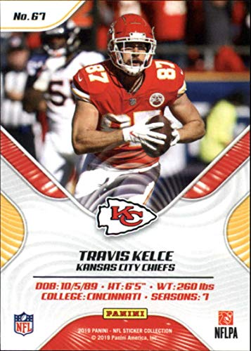 online store 26edd 11aee Amazon.com: 2019 Panini NFL Sticker Collection Base Insert ...