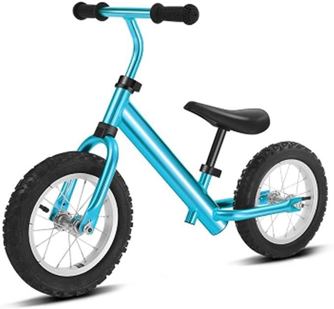 RUNWEI Bicicleta De Equilibrio, Bicicleta De Entrenamiento For Caminar For Niños, Niñas, Niños Y Niños Pequeños De 2 A 6 Años, Juguete For Niños, Sin Pedal, Asiento Ajustable Bicicleta de los niños: