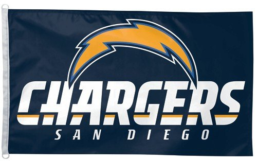 NFL San Diego Chargers 3-by-5 foot Flag