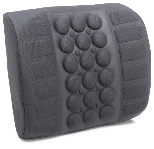 IMAK ERGO Superior Comfort and Lumbar Support for your car or office chair, reduce stress and improve posture with strap
