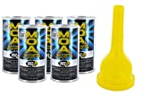 5 Pack - Bg MOA Motor Oil Additive (5) 11oz. Cans with Bg Funnel