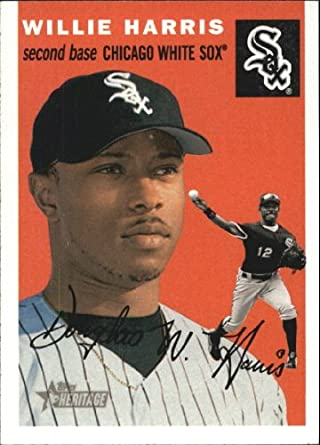 Amazoncom 2003 Topps Heritage Baseball Card 348 Willie