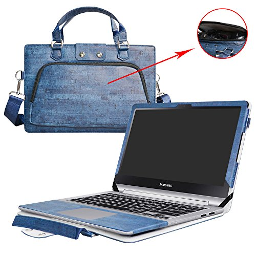 Notebook 7 Spin 15 Case,2 in 1 Accurately Designed Protective PU Leather...
