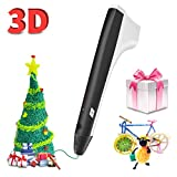SUNLU PLA Plus Filament 1.75mm 3D Printer 3D Pens 1KG PLA+ Filament +/- 0.02 mm, PLA+ (Black)