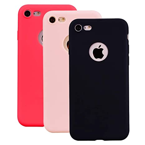 coque iphone 8 noir rouge