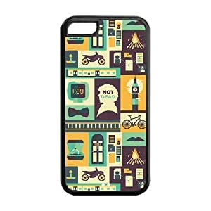 5C Phone Cases, Sherlock Hard Cover Case for iPhone 5C Designed by HnW Accessories