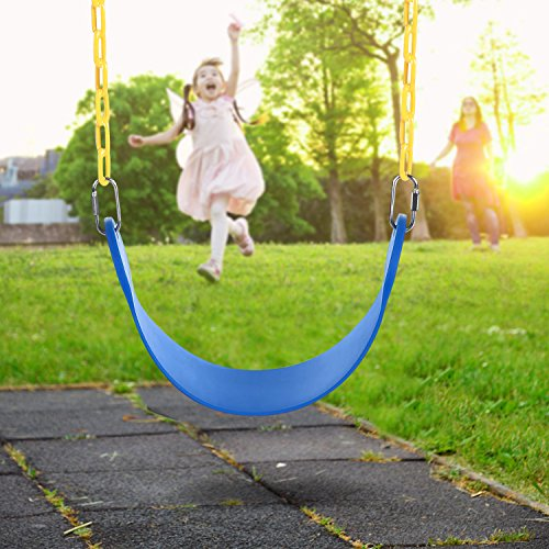 """Heavy Duty Plastic Coated Playground Swing Set w/ 60"""" Chain Only $15.99"""