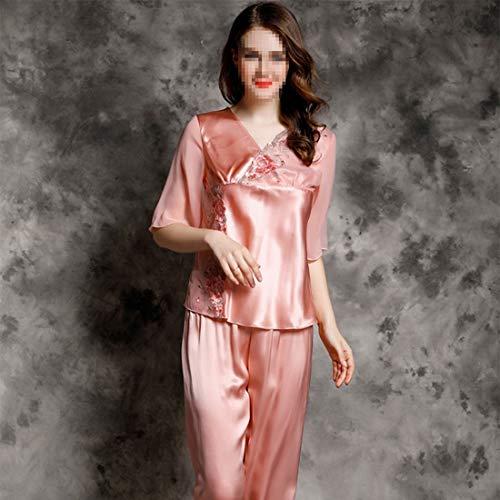 Pj L L Felicigg Pijamas color Dormir Larga Manga De Para Size 02 Set xxl Suave 01 Mujer Ropa aqaSzxg