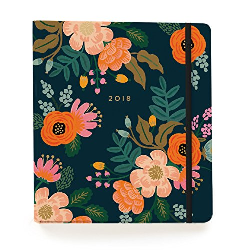 Lively Floral Weekly 18 Month Academic Planner - August 2017 to December 2018 - by Rifle Paper Co.