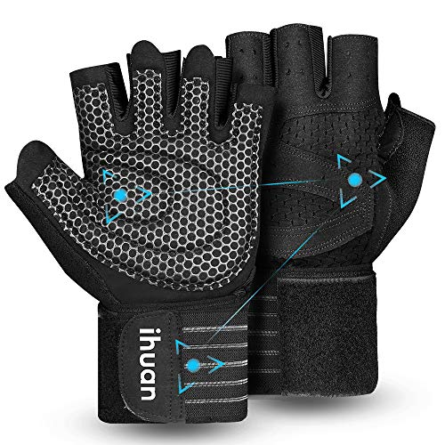 Updated 2020 Version Professional Ventilated Weight Lifting Gym Workout Gloves