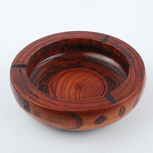 Wooden Ashtray - 5