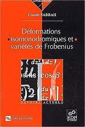 Déformations isomonodromiques et variétés de Frobenius