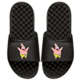 ISlide Nickelodeon Spongebob Squarepants Patrick Star Sandals- Black, 7