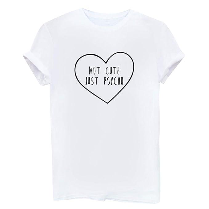 Camisetas Anchas Mujer Hombres Camisas para Damas Camisa Manga Corta Camiseta Señora Camisetas de Verano Remeras
