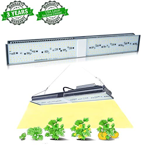MARS HYDRO SP 150 Led Grow Lights Sunlike Full Spectrum Grow Light Lamps for Indoor Plants Veg and Flower Bloom Hydroponic LED Growing Lights Fixtures for Greenhouse Cool and Quiet