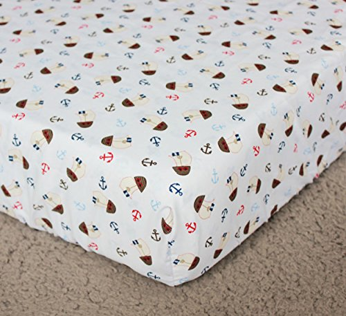 Baby-boy-Caribbean-Pirates-Crib-Bedding-fitted-sheet