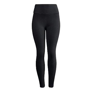 Cintura Alta de Yoga Pantalones, YpingLonk Jacquard Leggings Yoga ...