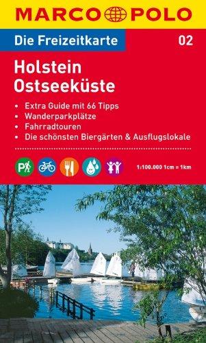MARCO POLO Freizeitkarte Holstein, Ostseeküste 1:100.000