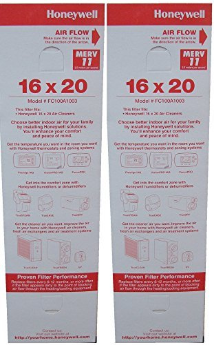 Honeywell Replacement Media - FC100A1003- 16x20,2 pack by Honeywell