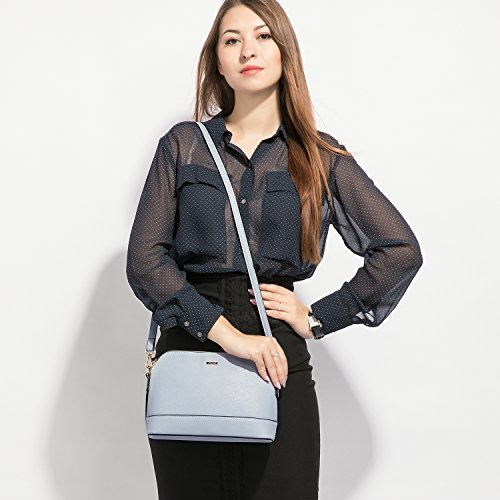 for Purse Tote Navy Bags Shoulder Women Hobo Handbags Satchel 3pcs Set 8wgIdF