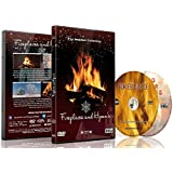 Fireplace DVD Fireplaces and Hymns with Falling Snow and Fireplaces