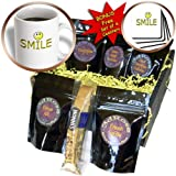 3dRose Women Humor, Smile, Coffee Gift Baskets