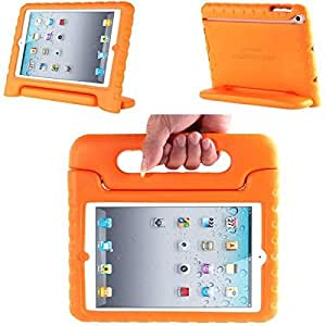 iPad 2 3 4 Klogi Eva Case with handle stand for kids [Orange]