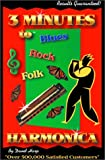 img - for 3 Minutes to Blues, Rock, and Folk Harmonica (Three Minutes To) book / textbook / text book