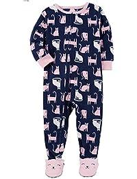 Big Girls Footed Microfleece Pjs Sleeper Pajamas
