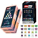 GBAuto Blade Car Fuses Assortment Kit 230PCS