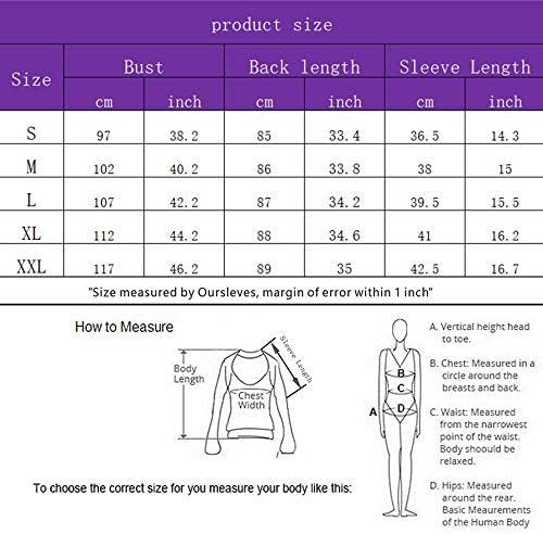 QUINTION Womens Nightgowns Short Sleeve Loungewear V Neck Sleepwear Plus Size Pjamas Dress S-XXL
