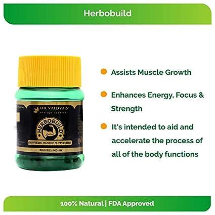 Herbobuild ayurvedic weight gainer