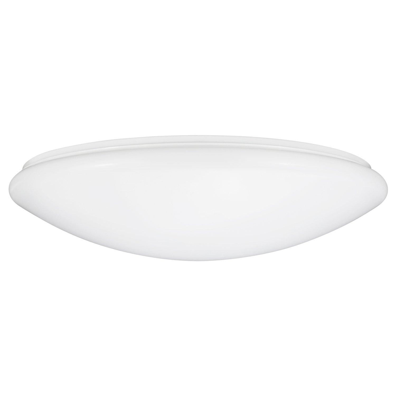 Sunlite LFX/MU/32W/E/D/40K LED 32W Dimmable 19'' Mushroom Ceiling Light Fixtures, Cool White