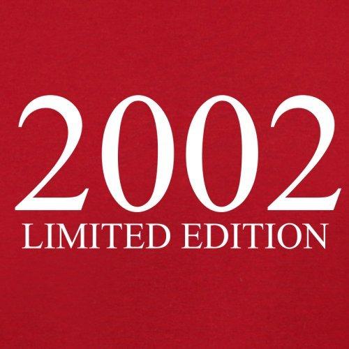 2002 Limierte Auflage / Limited Edition - 15. Geburtstag - Herren T-Shirt - Rot - XS