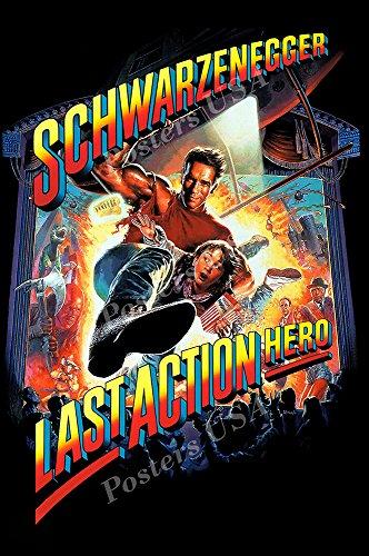 Posters USA - Arnold Schwarzenegger Last Action Hero Movie Poster GLOSSY FINISH - FIL121 (24